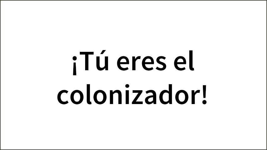 You-are-the-colonízer-copy